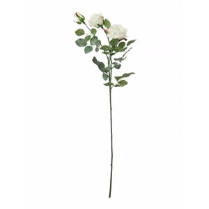 Cream artificial rose
