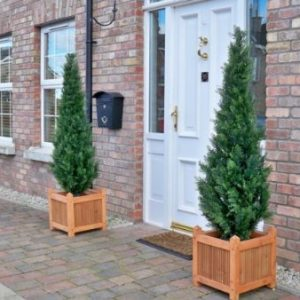 Artificial topiary trees