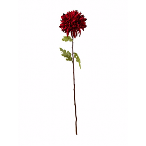 Red chrysanthemum artificial