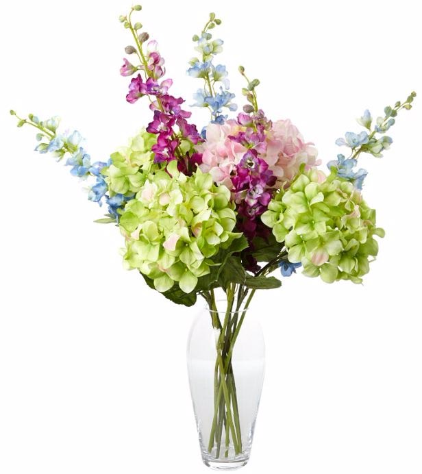 Hydrangea artificial flower arrangement