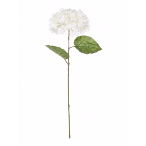 Single artificial hydrangea
