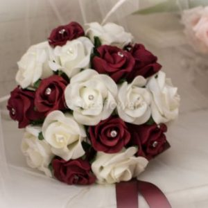 Artificial wedding flowers