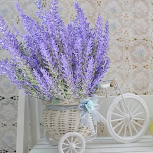 8 bundles of artificial lavender