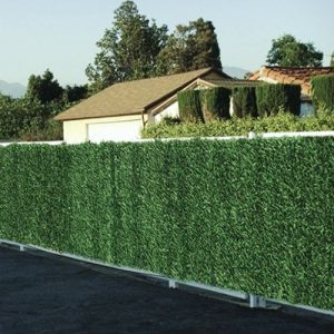 Artificial conifer hedge
