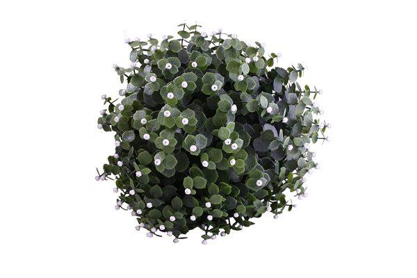 White flower topiary ball