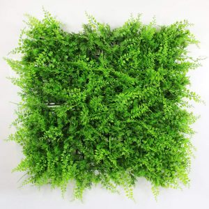 Artificial hedge greenery panel