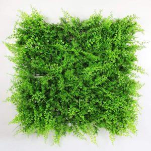 Artificial hedge greenery panel
