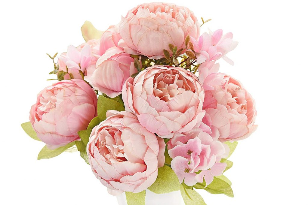 Artificial peonies