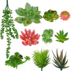 10 artificial plants