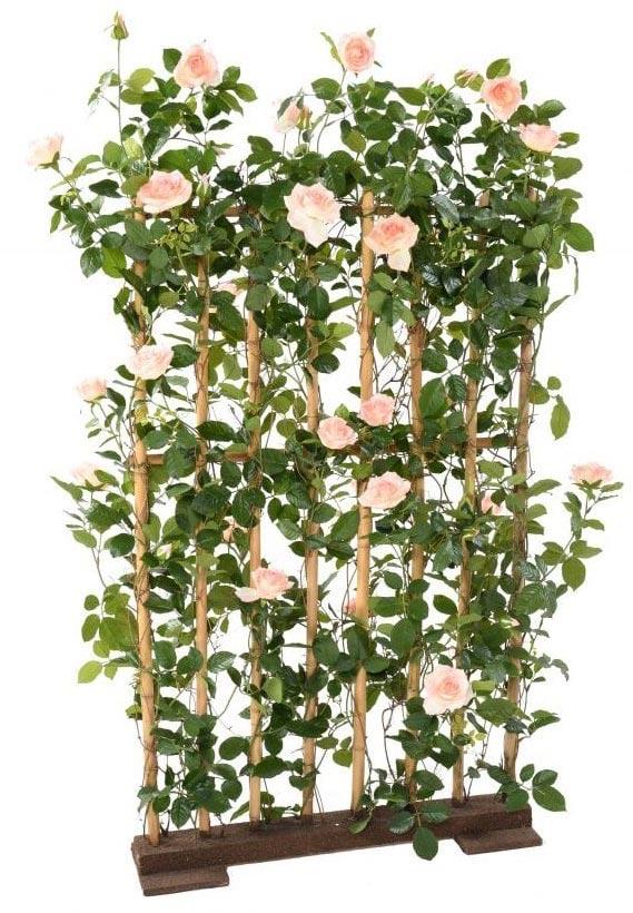 Artificial rose screen
