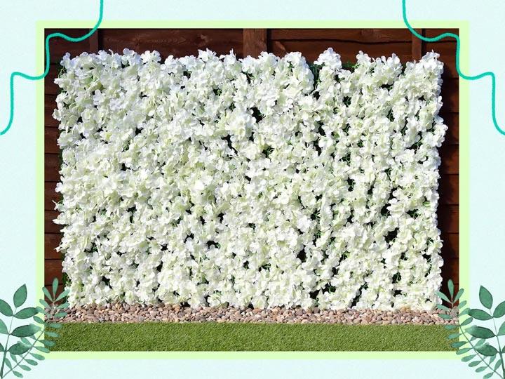 Flower wall - B & M