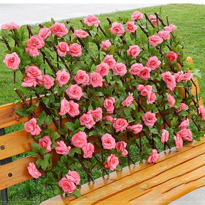 Wallmart flower wall